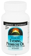 Image of Source Naturals - Evening Primrose Oil 1300 mg. - 30 Softgels