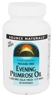 Image of Source Naturals - Evening Primrose Oil 1300 mg. - 60 Softgels