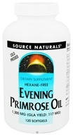 Image of Source Naturals - Evening Primrose Oil 1300 mg. - 120 Softgels