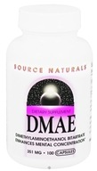 Image of Source Naturals - DMAE 351 mg. - 100 Capsules