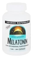 Source Naturals - Melatonin 1 mg. - 200 Capsules
