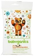 BabyGanics - Hand Sanitizing Wipes The Germinator Alcohol Free Light Citrus Scent - 20 Wipe(s), from category: Personal Care