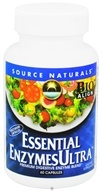 Source Naturals - Essential Enzymes Ultra - 60 Capsules (021078023302)