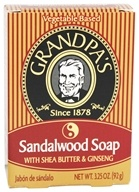 Grandpa's Soap Co. - Sandalwood Soap With Shea Butter & Ginseng - 3.25 oz. (010486007158)