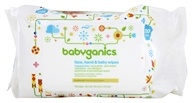 Image of BabyGanics - Baby Wipes Ultra Sensitive Thick N' Kleen Fragrance Free - 100 Wipe(s)