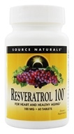 Image of Source Naturals - Resveratrol 100 mg. - 60 Tablets