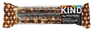 Image of Kind Bar - Plus Protein Nutrition Bar Peanut Butter Dark Chocolate - 1.4 oz.