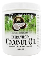 Source Naturals - Extra Virgin Coconut Oil - 16 oz.