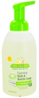 Image of BabyGanics - Foaming Dish & Bottle Soap The Dish Dazzler Fragrance Free - 18.6 oz.