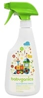 Image of BabyGanics - Toy & Highchair Cleaner The Cleaner Upper Fragrance Free - 17 oz.