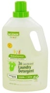 Image of BabyGanics - Laundry Detergent 3X Concentrated Loads of Love Fragrance Free - 64 oz.