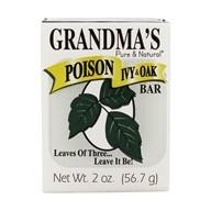 Remwood Products Co. - Grandma's Pure & Natural Poison Ivy and Oak Bar with Jewelweed - 2.15 oz. (072711670018)