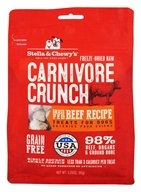 Stella & Chewy's - Carnivore Crunch Treats For Dogs Beef Recipe - 3.25 oz. - $9.29