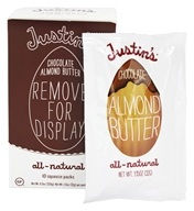 Justin's Nut Butter - Almond Butter Squeeze Pack Chocolate - 1.15 oz., from category: Health Foods