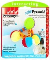 Image of Petstages - Mini Pyramid Dog Toy - CLEARANCE PRICED