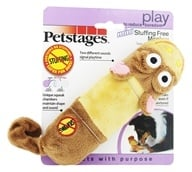 Petstages - Lil Squeak Monkey Dog Toy (871864006336)