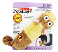 Image of Petstages - Lil Squeak Monkey Dog Toy