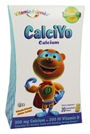 Vitamin Friends - CalciYo Calcium Banana/Vanilla Bears 300 mg. - 20 Gummies
