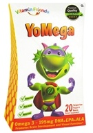 Image of Vitamin Friends - YoMega Omega 3 - 20 Tangerine Yogurt Bears - CLEARANCE PRICED