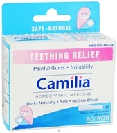 Boiron - Camilia Homeopathic Medicine for Teething Relief - 15 Dose(s)