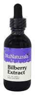NuNaturals - Pure Liquid Bilberry - 2 oz. (739223000312)
