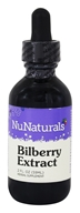 NuNaturals - Pure Liquid Bilberry - 2 oz., from category: Herbs