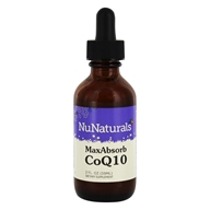 NuNaturals - Pure Liquid Max Absorb CoQ10 - 2 oz. (739223001036)