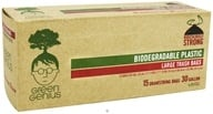 Green Genius - Biodegradable Plastic Large Trash Bags 30 Gallon - 15 Bags - $5.59