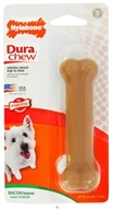 Nylabone - Dura Chew Bone Regular For Powerful Chewers Up To 25 Lbs. Bacon Flavored
