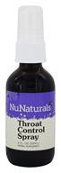 Image of NuNaturals - Pure Liquid Throat Control Spray - 2 oz.