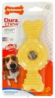 Nylabone - Dura Chew Ring Wolf For Powerful Chewers Up To 35 lbs. Chicken Flavored - CLEARANCE PRICED
