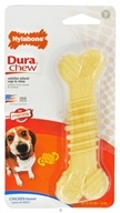 Nylabone - Dura Chew Textured Bone Wolf For Powerful Chewers Up To 35 lbs. Chicken Flavored - CLEARANCE PRICED