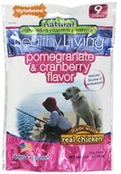 Nylabone - Healthy Living Dog Chews Pomegranate & Cranberry Flavor - 9 Chew(s)