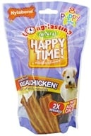 Nylabone - Happy Time! Edible Chews Puppy - 8 Chew(s) CLEARANCE PRICED