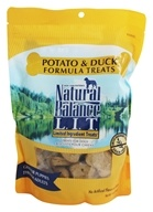 Image of Natural Balance Pet Foods - L.I.T. Limited Ingredient Treats For Dogs Potato & Duck - 14 oz.