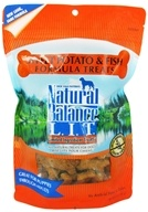 Image of Natural Balance Pet Foods - L.I.T. Limited Ingredient Treats For Dogs Sweet Potato & Fish - 14 oz.