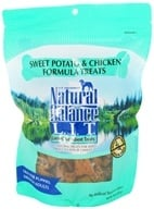 Natural Balance Pet Foods - L.I.T. Limited Ingredient Treats For Dogs Sweet Potato & Chicken - 14 oz. CLEARANCE PRICED