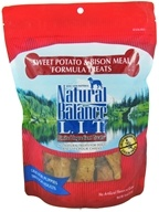Natural Balance Pet Foods - L.I.T. Limited Ingredient Treats For Dogs Sweet Potato & Bison Meal - 14 oz.
