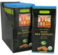 Rapunzel - Organic Swiss Milk Chocolate 38% Cocoa - 3 oz., from category: Health Foods