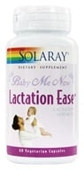 Solaray - Baby Me Now Lactation Ease Lactation Formula - 60 Vegetarian Capsules by Solaray