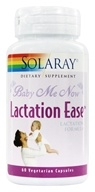 Image of Solaray - Baby Me Now Lactation Ease Lactation Formula - 60 Vegetarian Capsules