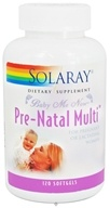 Solaray - Baby Me Now Pre-Natal Multi For Pregnant or Lactating Women - 120 Softgels (076280087512)