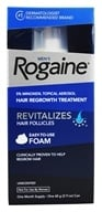 Image of Rogaine - Men's Hair Regrowth Treatment Foam Unscented One Month Supply - 2.11 oz.