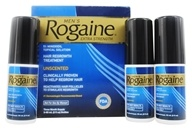 Image of Rogaine - Men's Extra Strength Hair Regrowth Treatment Unscented Three Month Supply - 2 oz.