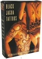 Earth Jagua - Black Temporary Tattoo Kit All Natural (669586500399)
