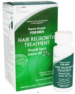 Actavis - Regular Strength Hair Regrowth Treatment for Men One Month Supply - 2 oz.