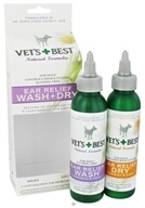 Image of Vet's Best - Ear Relief Wash & Dry - 4 oz.