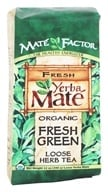 Mate Factor - Organic Yerba Mate Loose Herb Tea Fresh Green - 12 oz. (830568000040)