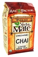 Mate Factor - Organic Yerba Mate Loose Herb Tea Chai - 12 oz. (830568000026)