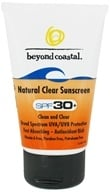 Beyond Coastal - Sunscreen Natural Clear 30 SPF - 2.5 oz. (093039157029)
